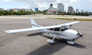 St. Pete Air: $99 for $234 Worth of 1 Hour Intro Flight Lesson at St. Pete Air
