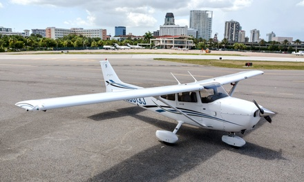 $99 for $234 Worth of 1 Hour Intro Flight Lesson at St. Pete Air