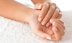 Vivere with Beauty Salon: One or Two Mani-Pedis with Foot Scrubs and Massages at Vivere with Beauty Salon (Up to 55% Off)