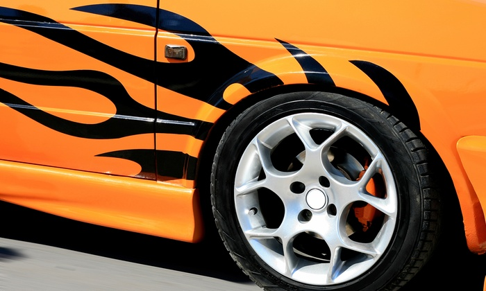 Cars and Concepts - Lettering - Robbinsdale - Crystal - New Hope: Custom Decals and Lettering for One or Two Panels from Cars & Concepts (Up to 60% Off)