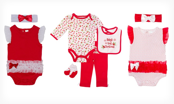 BabyGear Christmas Sets: BabyGear Christmas Sets. Multiple Styles Available.