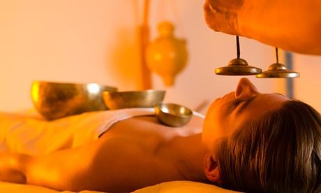 One Tantric Chakra Therapy Bodywork Session for One or Two at Selah (Up to 52% Off) 72fd98f3-bbc0-454a-a8d4-c98ab6b41649
