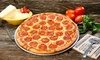 Extreme Pizza - Wantage: Signature Pizza for Two or Four, Plus Wings or Salad, and Fountain Soda at Extreme Pizza (Up to 53% Off)