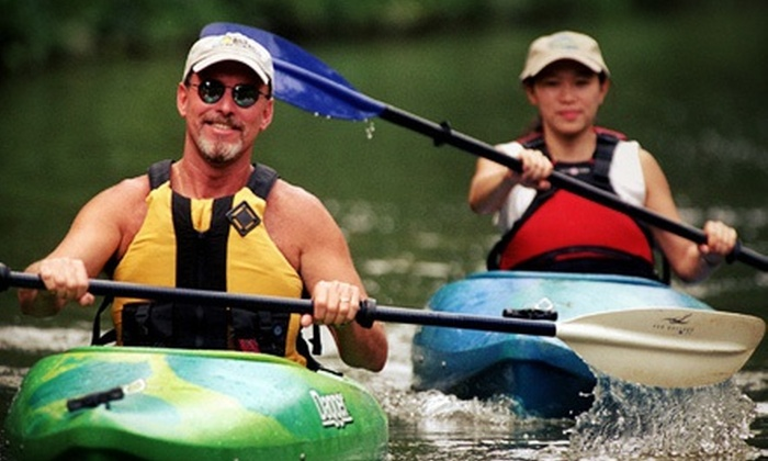 Potomac Paddlesports - Potomac: $69 for Two Three-Hour Kayak or Stand Up Paddle Happy Hours from Potomac Paddlesports ($140 Value)