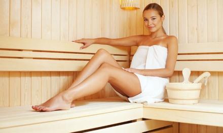 2 uur privé-sauna voor twee personen met bubbels en aromatherapie bij Wellness la Luna