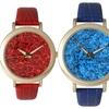 Women's Confetti-Face Watches