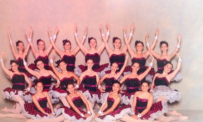 Four <strong>Dance Classes</strong> from RI Ballet Arts Academy (46% Off)