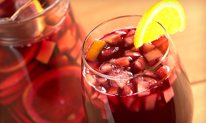 Saffron Restaurant and Tapas Bar - Howard Beach: Tapas, Sangria, Salad, and Dessert for Two or Four at Saffron Restaurant and Tapas Bar (54% Off)