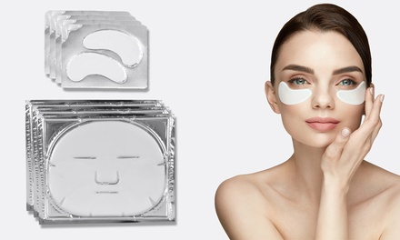 Collagen Eye, Face and Neck Mask Packs