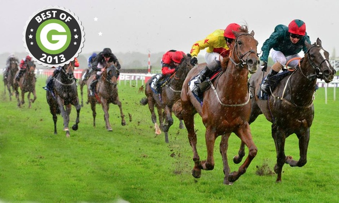 Doncaster Racecourse - Doncaster Racecourse/ The Grandstand: Raceday For Two Adults and up to Four Children for £19 at Doncaster Racecourse (49% Off)