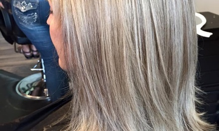 Haircut, Highlights, and Style from Shear Attraction (50% Off)