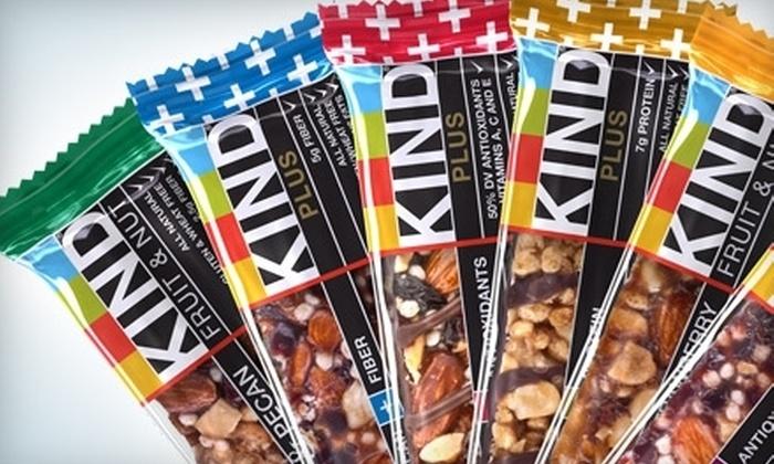 KIND: $10 for $25 Worth of KIND Bars from KINDsnacks.com