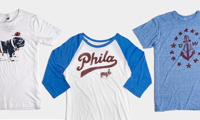 Duke & Winston - Northern Liberties -  Fishtown: $20 for $40 Towards T-shirts and Hats at Duke & Winston