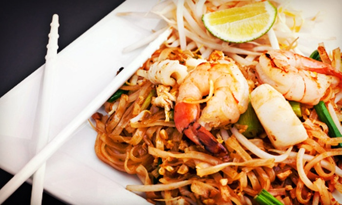Thai Bistro & Sushi - Downtown,Mid-Second,Beale Street: $12 for $24 Worth of Thai Food at Thai Bistro & Sushi