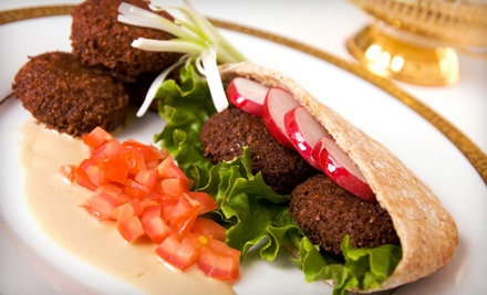 $15 for Three $10 Vouchers for Mediterranean Cuisine at Mezeh Mediterranean Grill ($30 Value)