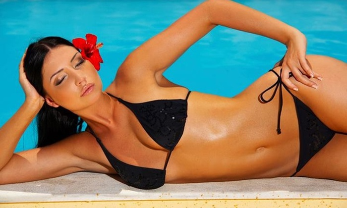 Glistening Glory - Old Colorado City: Up to 56% Off Full Body Spray Tan at Glistening Glory @ All About Tangles