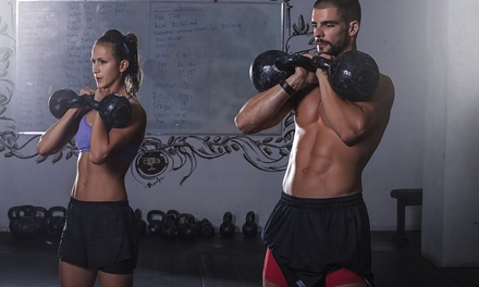 $50 for One Months of Unlimited Classes at CrossFit Valiance ($125 Value)