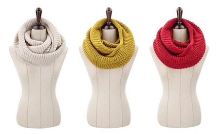 Bufanda cerrada de lana por 9,99 € o dos por 14,90 €