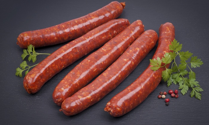 Mid-East Market - Teralta East: $30 for $50 Worth of Lamb Chops and Lamb Sausages at Mid-East Market