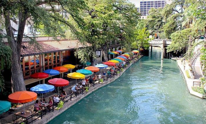 Riverwalk Plaza Hotel & Suites - San Antonio, Texas: One-Night Stay at Riverwalk Plaza Hotel & Suites in San Antonio