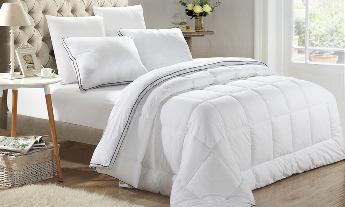 New Season Microgel Duvets And Duvet Sets With Pillows