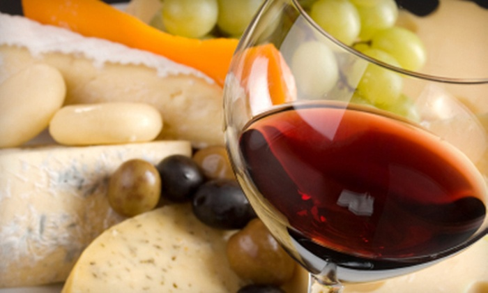 D'Vine Wine - Manitou Springs: Wine-and-Cheese Tasting for Two or Four at D'Vine Wine (Up to 58% Off)