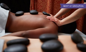 Ageless Beauty Day Spa: 60-Minute Hot-Stone Massage with Optional Mani-Pedi, Facial, or Both at Ageless Beauty Day Spa (Up to 52% Off)