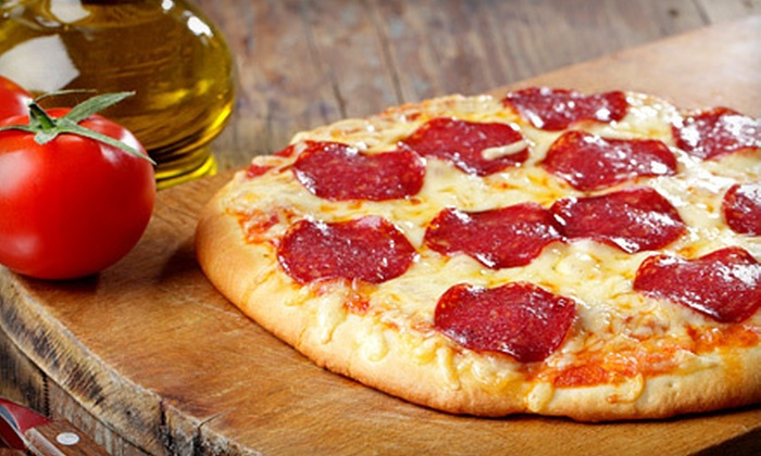 Rosie's A Taste of Italy - Sunnyland: Friday-Night Comedy Show for Two or Four with Pizza at Rosie's A Taste of Italy (Up to 55% Off)
