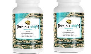 Brain Shift Solutions: $39 for $77 Worth of Nutritional Supplements — Brain Shift Solutions