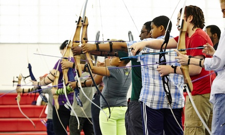 One or Three 90-Minute Archery Lessons for One or Two from Hidden Gems Archery (58% Off)