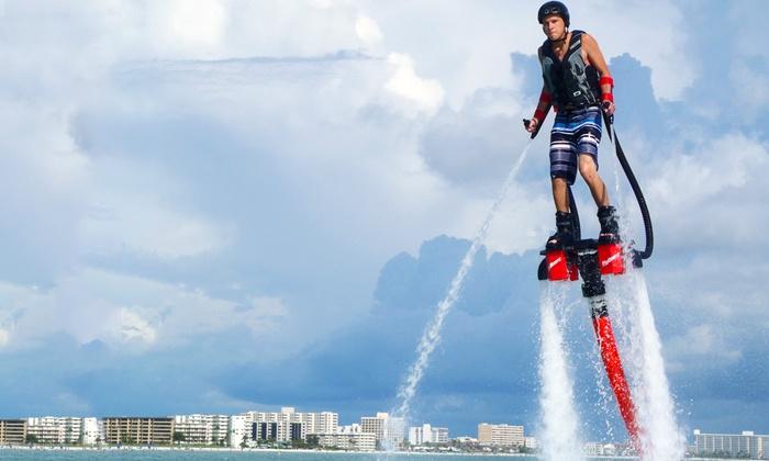 Flyboarding Sarasota - Sarasota Beach: One-Hour Flyboard Session for One or Two at Flyboarding Sarasota (65% Off)