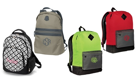 Personalized Backpacks from Embellish Accessories and Gifts (Up to 58% Off). Four Options Available.