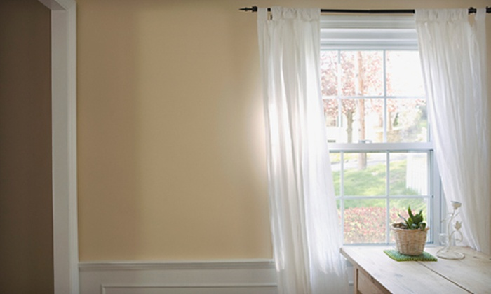 Dirty Works - Raleigh West: Interior and Exterior Washing of Up to 15 or 25 Windows with Optional Painting Services from Dirty Works (Up to 64% Off)
