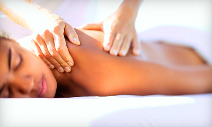 Massage by Samantha - North Hills: 90-Minute Massage with a Mud Body Mask or Hydrating Wrap, or a 60-Minute Massage at Touch of Sam (Up to 51% Off)