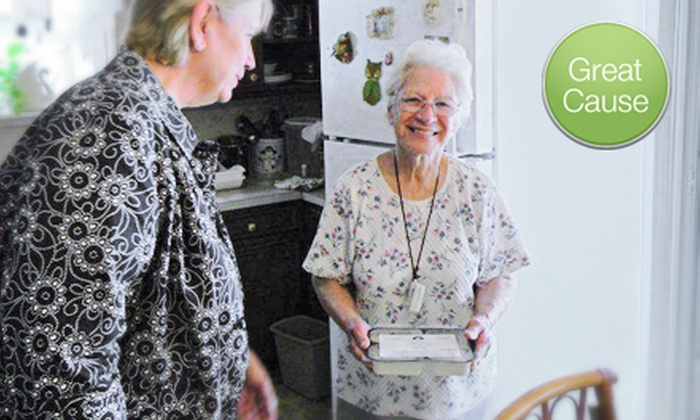 Meals on Wheels and More: $15 Donation to Help Fund Meals for Homebound People