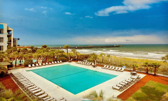 Springmaid Beach Resort - Myrtle Beach, SC: One-Night Stay for Up to Four at Springmaid Beach Resort in Myrtle Beach