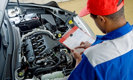 $25 for a Car-Care Package with an Oil Change and a Tire Rotation (Up to $59.95 Value)