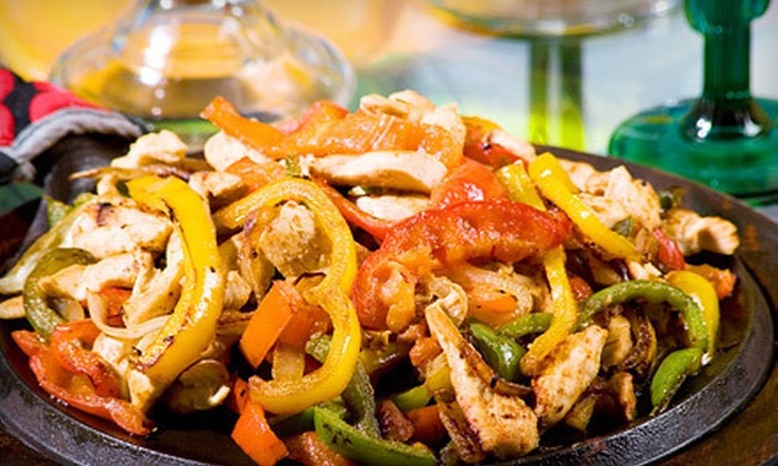 Fiesta - Dupont Circle: Fajitas and Bottomless Drinks for Two or Four at Fiesta (Up to 54% Off)