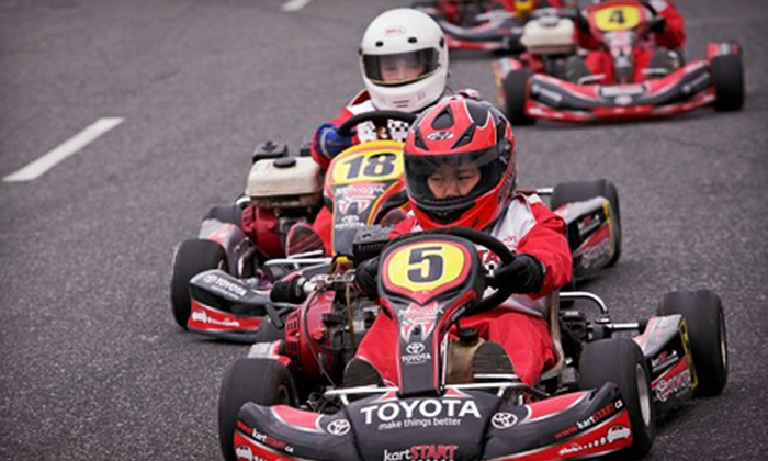 kartSTART.ca - Innisfil: $59 for a Go-Karting Package with Rental Equipment and Food from kartSTART.ca ($250 Value). Four Dates Available.