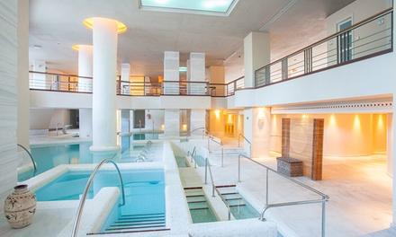 Circuito spa y relax de 120 minutos con copa de cava para 2 personas por 39,95€ en Spa Hotel Royal Hideaway Sancti Petri