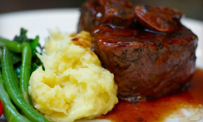 West Plains Bistro - Burlington: $20 for $40 Worth of European Cuisine at West Plains Bistro