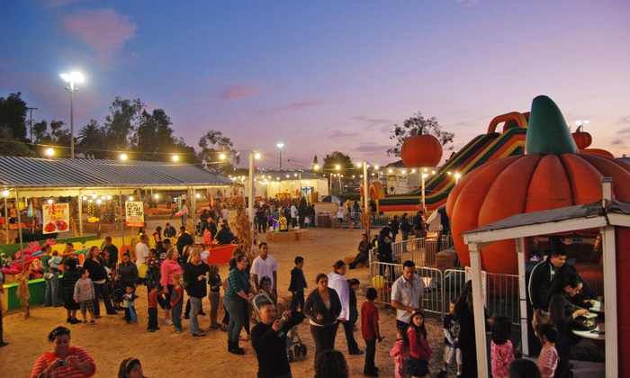 Pumpkin Station - Multiple Locations: $16 for 12 Ride and Activity Tickets at Pumpkin Station ($32 Value)