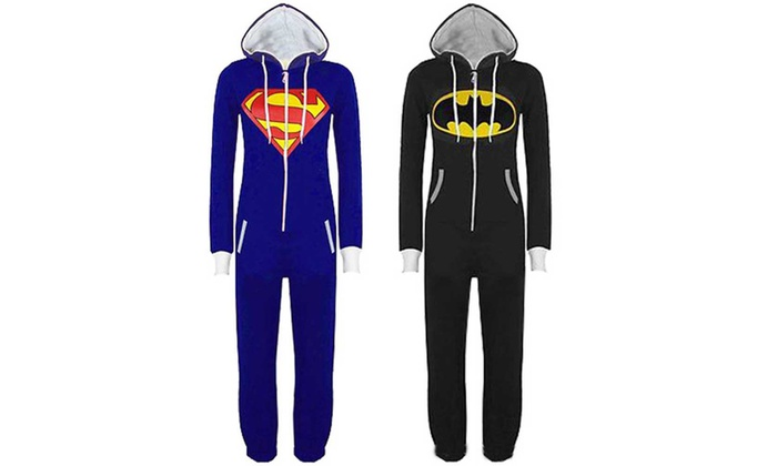 moda firmata ultimo di vendita caldo vivido e di grande stile Pigiama intero Superhero uomo   Groupon Goods