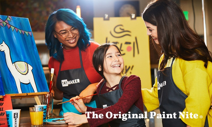 The Original Paint Nite From 27 Richmond Groupon