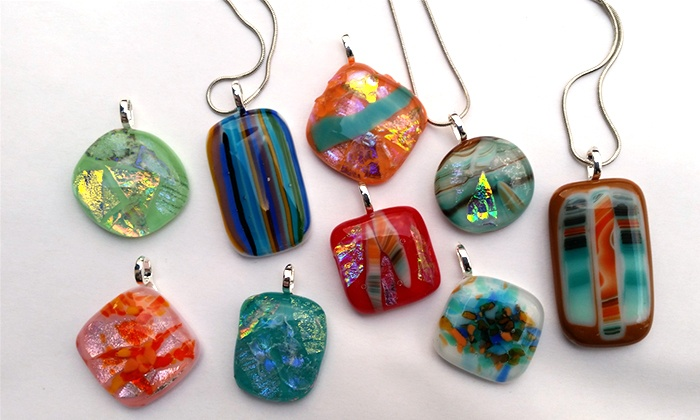 The Glass Workbench - Historic Main Street in St Charles: Two-Hour Glass Pendant-Making Class for One or Two at The Glass Workbench (40% Off)