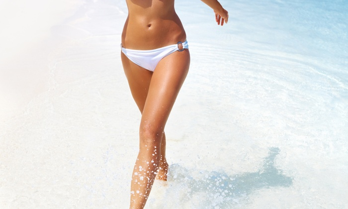 Desirable Glow - Stockton: One or Three In-Home Belloccio Spray Tans at Desirable Glow (Up to 52% Off)