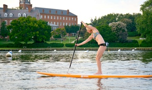 Capital SUP: 60-Minute Weekday Standup-Paddleboard Rental for Two or Four from Capital SUP (Up to 51% Off)