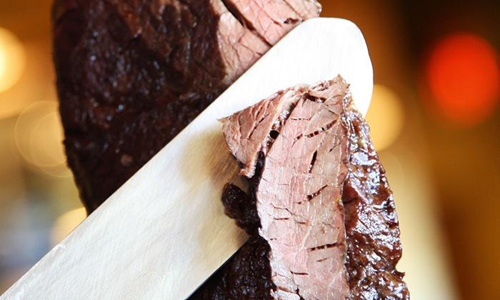 Vila Brazil - Hillcrest Oaks: Three-Course Brazilian Steak-House Lunch or Dinner for Two at Vila Brazil (Up to 42% Off)