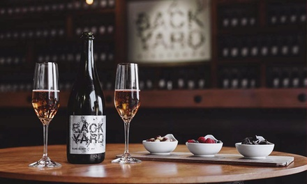C$89.99 for a Valentine's Day Tour and S.W.A.G. Package for Two at Backyard Vineyards (C$130 Value)