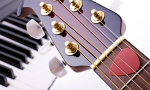 Gene Anthony Music: Three or Six 30-Minute Music Lessons or an In-Studio Music-Producing Session at Gene Anthony Music (56% Off)